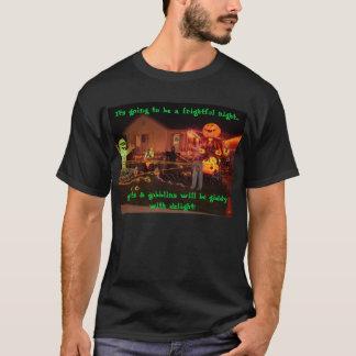 T-shirt Ce va être une nuit terrible ......
