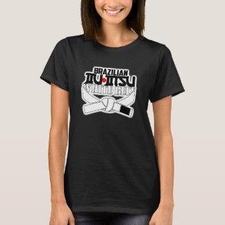 T-shirt Ceinture de blanc de BJJ