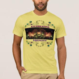 T-shirt Célébration de la chemise d'égalité
