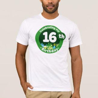 T-shirt Célébration de mon 16ème anniversaire