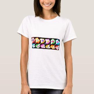 T-shirt Célébrations : Icebergs colorés floraux