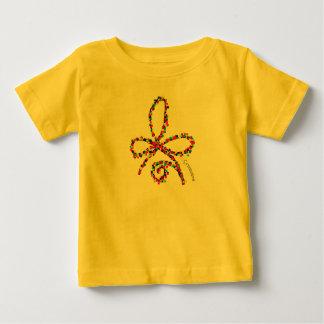 T-shirt celtique heureux coloré de bébé de symbole