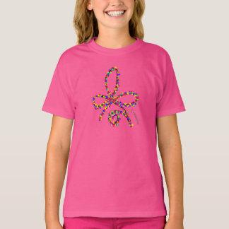 T-shirt celtique heureux coloré de symbole de