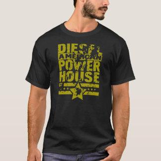 T-shirt Centrale électrique diesel américaine