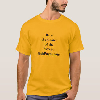T-shirt Centre de la chemise de Web