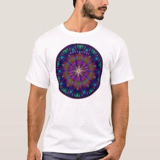 T-shirt Centre Sun en verre souillé