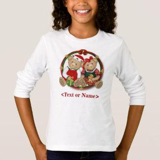 T-shirt Cercle de Joyeux Noël de Beary