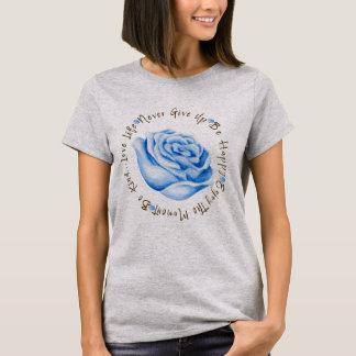 T-shirt Cercle inspiré d'affirmation de citation