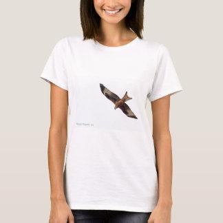 T-shirt Cerf-volant rouge en ciel