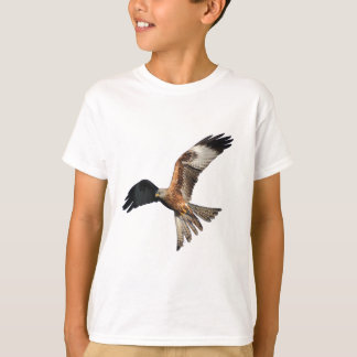 T-shirt Cerf-volant rouge - milvus de Milvus