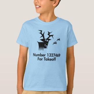 T-shirt Cerfs communs aucun X pour le décollage