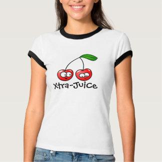 T-shirt Cerise de Supplémentaire-Jus de dames