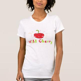 T-shirt Cerise sauvage