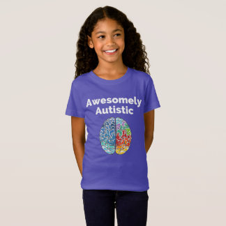 T-Shirt Cerveau de manière impressionante autiste