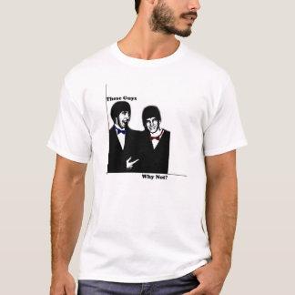 T-shirt Ces types