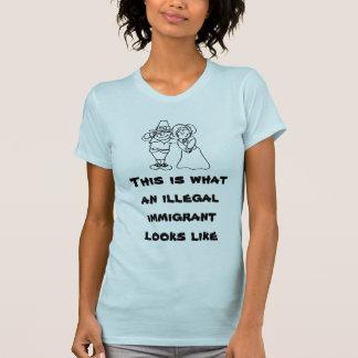 T-shirt C'est à quel immigrant illégal ressemble