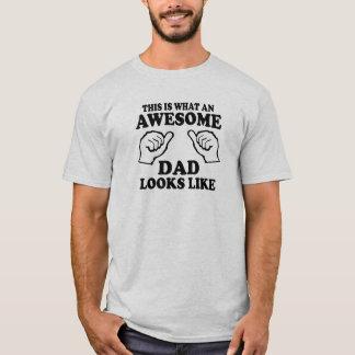 T-shirt C'est à quel papa impressionnant ressemble
