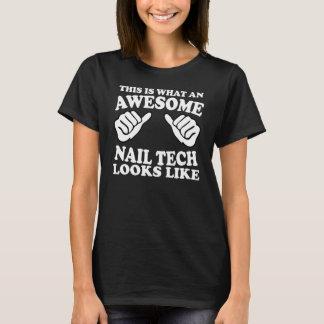 T-shirt c'est à quel technicien impressionnant de clou