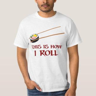 T-shirt C'est comment petit pain de sushi d'I