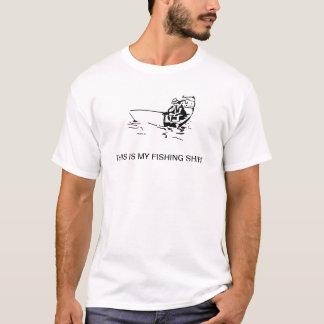 T-shirt C'est ma chemise de pêche