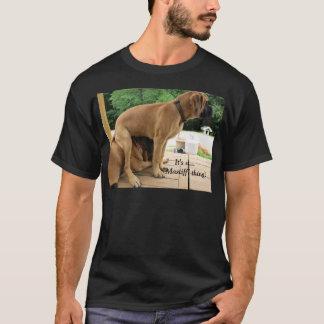 T-shirt C'est une chose de mastiff ! Chemise anglaise de