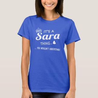 T-shirt C'est une chose de SARA