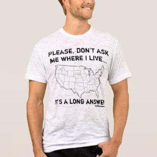 T-shirt C'est une longue réponse…