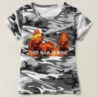 T-shirt Cette guerre est la mienne II