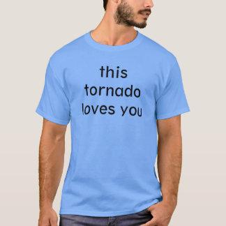 T-shirt cette tornade