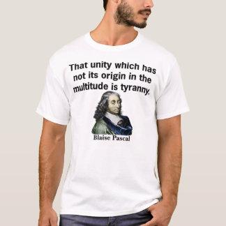 T-shirt Cette unité qui n'a pas son origine dans le