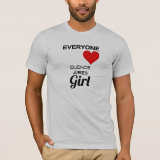 T-shirt chacun fille de Buenos Aires