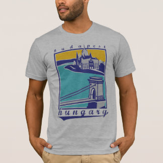 T-shirt Chain Bridge - Budapest Forever ! collection