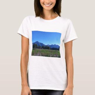 T-shirt Chaîne de montagne d'Alaska d'été