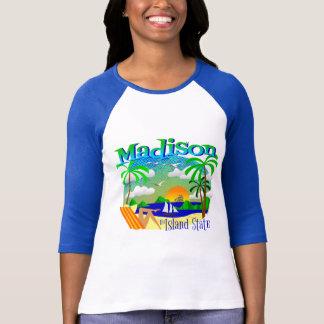 T-shirt Chaise de plage d'état d'île