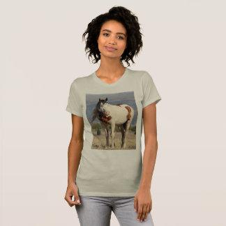 T-shirt Chaman, étalon. Sauvage, mustang, Orégon du