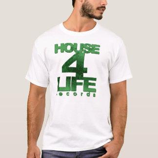 T-shirt Chambre 4 hommes de disques de la vie Pièce en