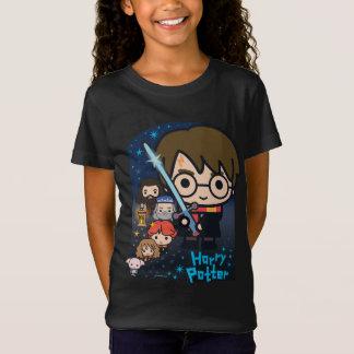 T-Shirt Chambre de Harry Potter de bande dessinée des