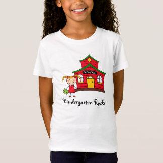 T-Shirt Chambre d'école avec la chemise de fille