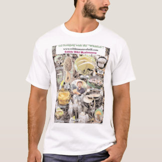 T-shirt Champignons sauvages comestibles
