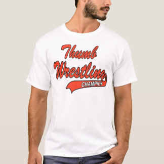 T-shirt Champion de lutte de pouce