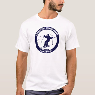 T-shirt Champion incliné 1984 de Chinois international
