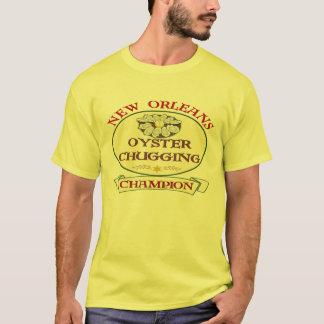 T-shirt Champion soufflant d'huître de la Nouvelle-Orléans
