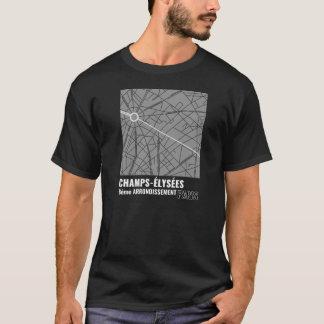 T-shirt Champions-Élysées, 8ème Arrondissment, Paris dans