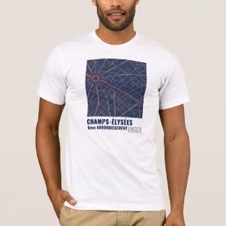 T-shirt Champions-Élysées, 8ème Arrondissment, Paris en