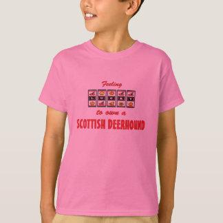 T-shirt Chanceux au propre une conception écossaise de