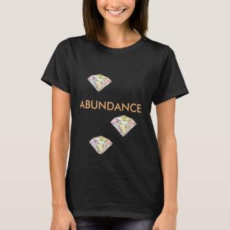 T-shirt chanceux de diamant original d'abondance