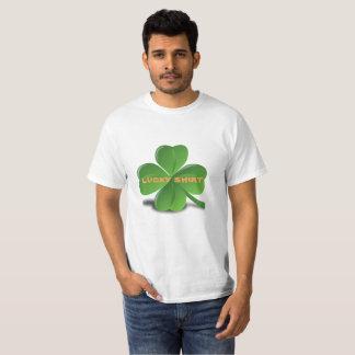 T-shirt chanceux du jour de St Patrick