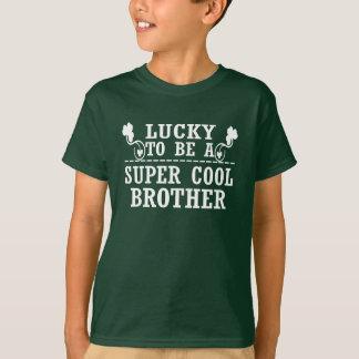 T-shirt Chanceux pour être un FRÈRE FRAIS SUPERBE