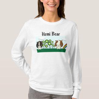 T-shirt Chandail élégant d'ours de Hemi des studios de