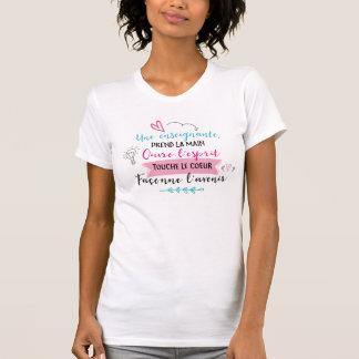 T-shirt Chandail enseignante